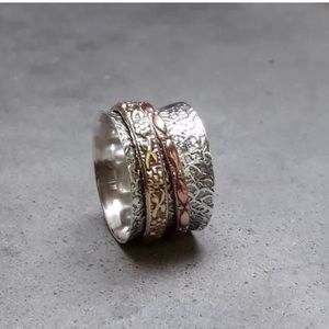 925 SS Spinner Ring